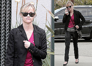 Photos of Reese Witherspoon Wearing Pink in LA