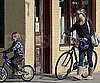 Slide Photo of Kate Hudson and Ryder Riding Bikes in New Orleans
