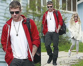 Photos of Newly Single Ryan Phillippe With Ava and Deacon After Splitting With Abbie Cornish