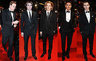 Photos of All the Men on BAFTAs 2010 Red Carpet Prince William, Robert Pattinson, Jamie Campbell Bower, Jonathan Rhys Meyers 2010-02-21 14:21:31