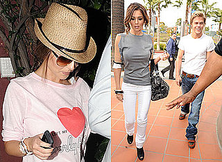 Photos of Cheryl Cole With Derek Hough in LA as Ashley Cole Is Accused of a Fifth Affair and Cheryl Reportedly Ends Relationship