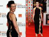 Photos of Olivia Williams in a Revealing Dress at 2010 BAFTA Awards
