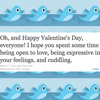 Celeb Twitter Quiz About Valentine's Day