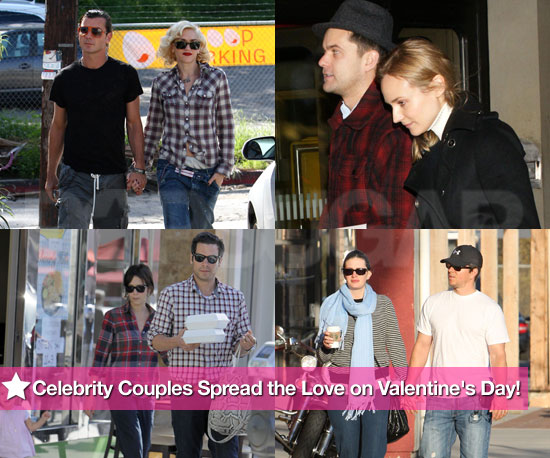 Celebrity Couples Spread the Love on Valentine's Day!