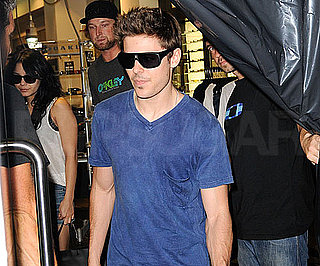 Slide Photo of Zac Efron in Sydney