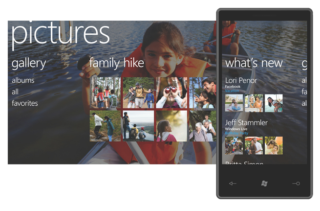 Photos of the Windows Phone 7 Series