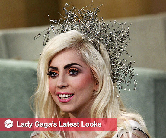 Good Morning America Beauty Tips : Lady gaga quot telephone good morning america and brit