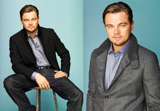 Photos of Leonardo DiCaprio on the Cover of PARADE Magazine Talking About Shutter Island