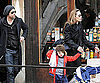 Slide Photo of Brad Pitt and Angelina Jolie With Shiloh in Venice
