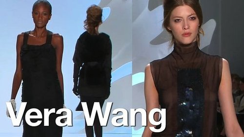 Vera Wang at New York Fashion Week Fall 2010 What's Fab First Look