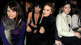 Photos of Justin Timberlake, Jessica Biel, Mary Kate Olsen, and Nicole Richie at New York Fall Fashion Week