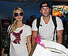 Slide Photo of Paris Hilton and Doug Reinhardt at LAX 2010-02-18 04:30:05