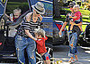 Photos of Gwen Stefani Wearing a Fedora and Kingston and Zuma Rossdale in LA