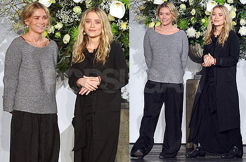 Photos of Ashley Olsen and Mary-Kate Olsen at Their Fashion Show For The Row During 2010 Fall New York Fashion Week