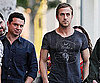 Slide Photo of Ryan Gosling in LA With Friends