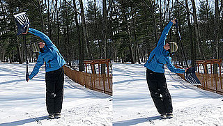 Stretches to Relieve Shoulder Pain From Shoveling Snow