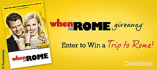And the When in Rome Giveaway Winner Is . . .