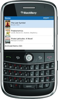 Kindle App For BlackBerry