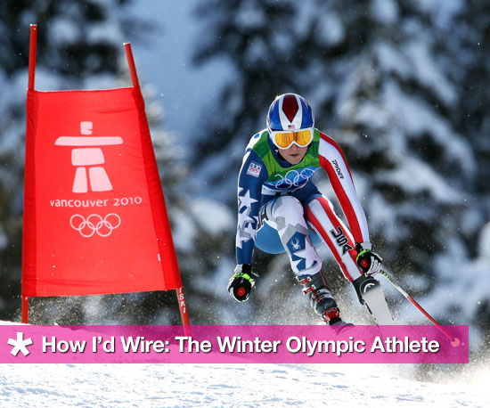 How I'd Wire: The Winter Olympic Athlete