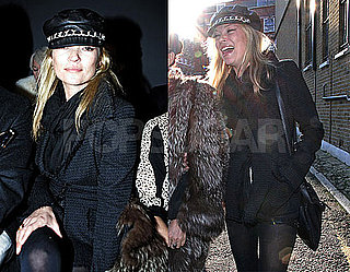 Photos of Kate Moss During London Fashion Week