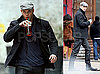 Photos of Kellan Lutz Walking in NYC With a Starbucks Iced Tea