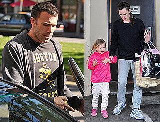Photos of Ben Affleck, Jennifer Garner, and Violet Affleck Together in LA