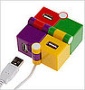 Colorful Cube USB Hub