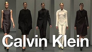 Calvin Klein Fall at New York Fashion Week 2010: What's Fab First Look