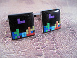 Tetris Cuff Links ($22)