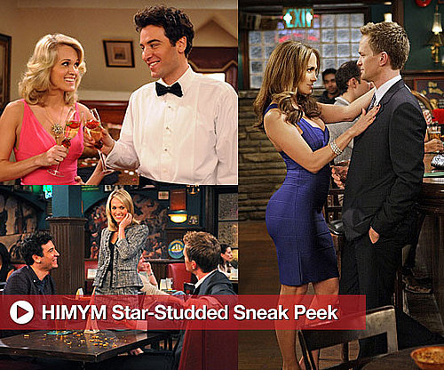 Photos of Jennifer Lopez and Carrie Underwood on How I Met Your Mother