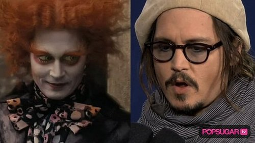 Johnny Depp at Fan Event For Alice in Wonderland