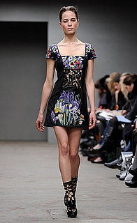 Christopher Kane London fashion week collection