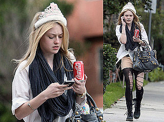Photos of Dakota Fanning on her 16th Birthday