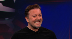 Ricky Gervais on Daily Show
