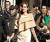 Slide Photo of Angelina Jolie on The Tourist Set in Paris