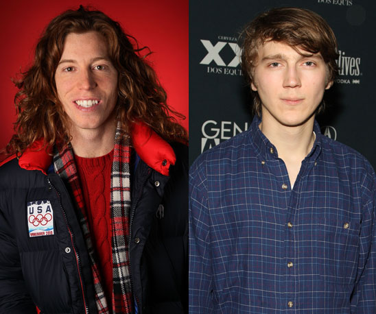 Shaun White Played by Paul Dano