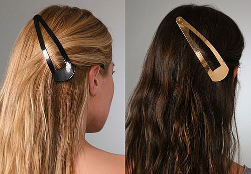 Would You Wear Giant Barrettes?