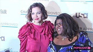 Maggie Gyllenhaal Red Carpet and Gabourey Sidibe's Singing Mom
