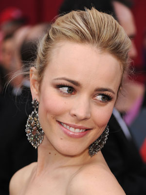 Rachel McAdams 2010 Oscars: Pictures and Makeup Tutorial