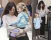 Photos of Jennifer Garner Picking Up Adorable Violet From School in Santa Monica