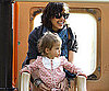 Slide Photo of Jessica Alba and Honor at LA Park