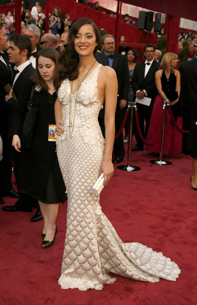 Marion Cotillard at the 2008 Academy Awards