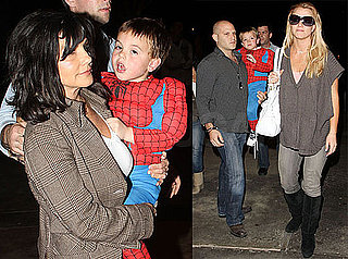 Photos of Britney Spears, Sean Preston Spears Federline, Jayden James Spears Federline, and Lynne Spears at the Movies in LA