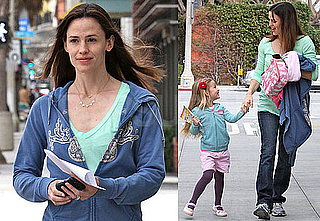 Photos of Jennifer Garner and Violet Affleck Smiling in LA