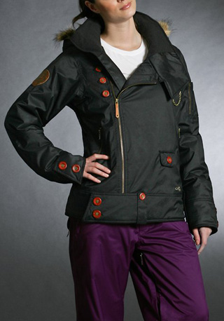 Gretchen Bleiler Mane Jacket, black ($280)