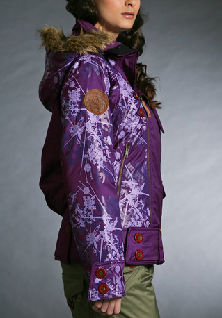 Gretchen Bleiler Mane Jacket, purple ($280)