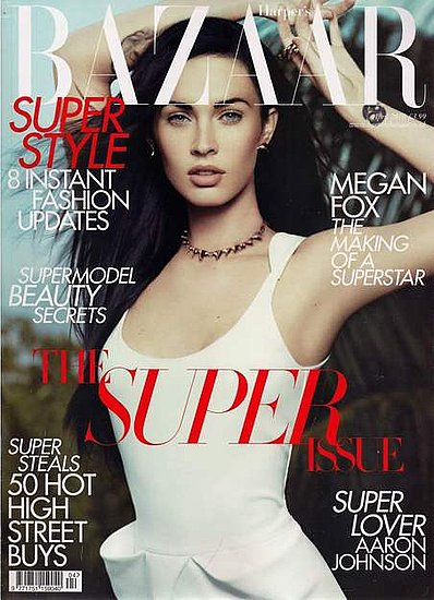 Megan Fox does Harper's Bazaar-april 2010