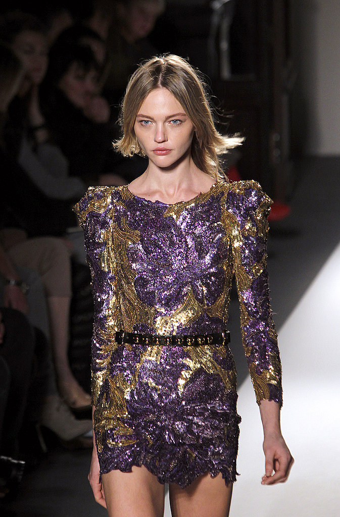 Christophe Decarnin Goes for the Gold with Balmain Fall 2010