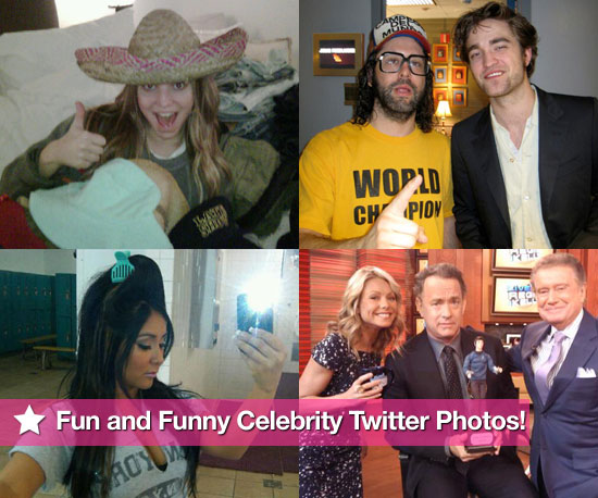 Robert Pattinson and Jessica Simpson in This Week's Fun and Funny Celebrity Twitter Photos!
