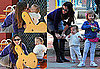 Photos of Jennifer Garner, Violet Affleck, Seraphina Affleck in LA
